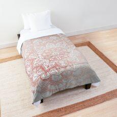 Rose Gold Mandala Star Comforter