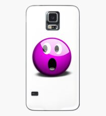 Emoji Morado Case/Skin for Samsung Galaxy