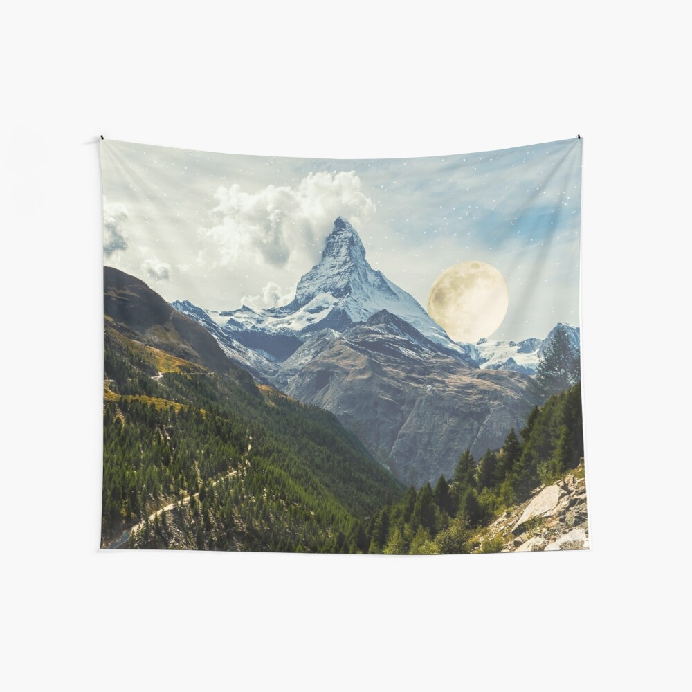 Wander trip sets the Moon Wall Tapestry