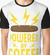 Powered by coffee Graphic T-Shirt