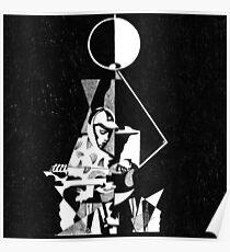 king krule 6 feet beneath the moon art Poster