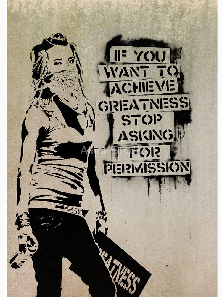 Banksy, greatness by Alma-Studio
