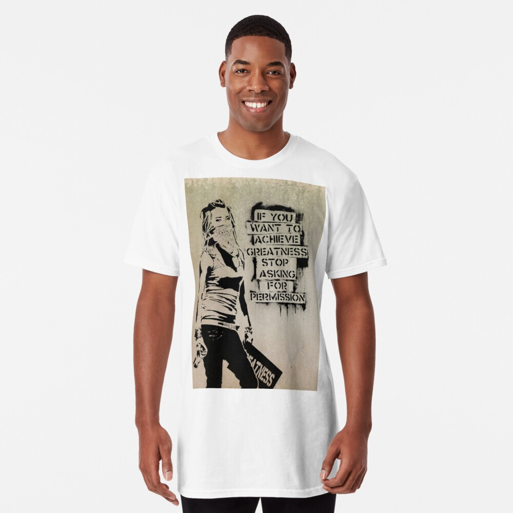 Banksy, greatness Long T-Shirt