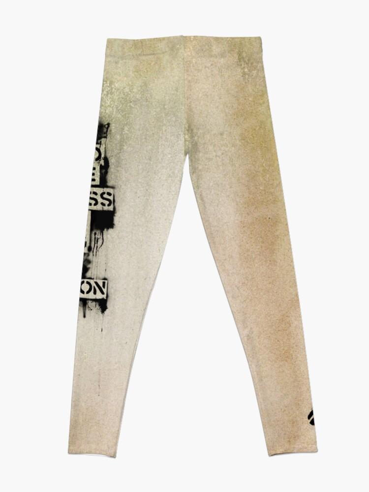 Alternate view of Banksy, greatness Leggings