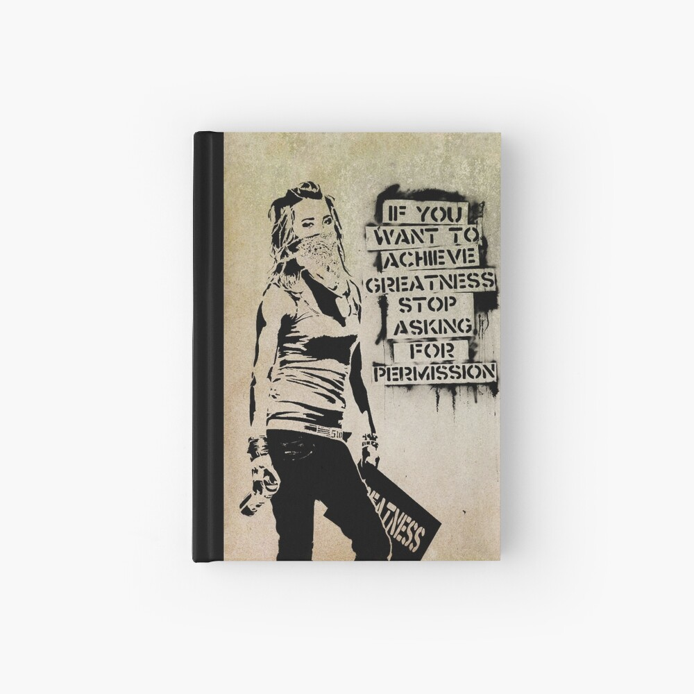 Banksy, greatness Hardcover Journal