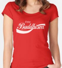 Enjoy Buddhism Women's Fitted Scoop T-Shirt