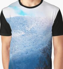 Snowy Mountain  Graphic T-Shirt