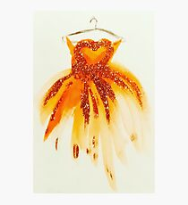 Princess Glitter Gown  Photographic Print