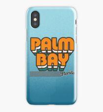 Palm Bay, Florida | Retro Stripes iPhone Case/Skin