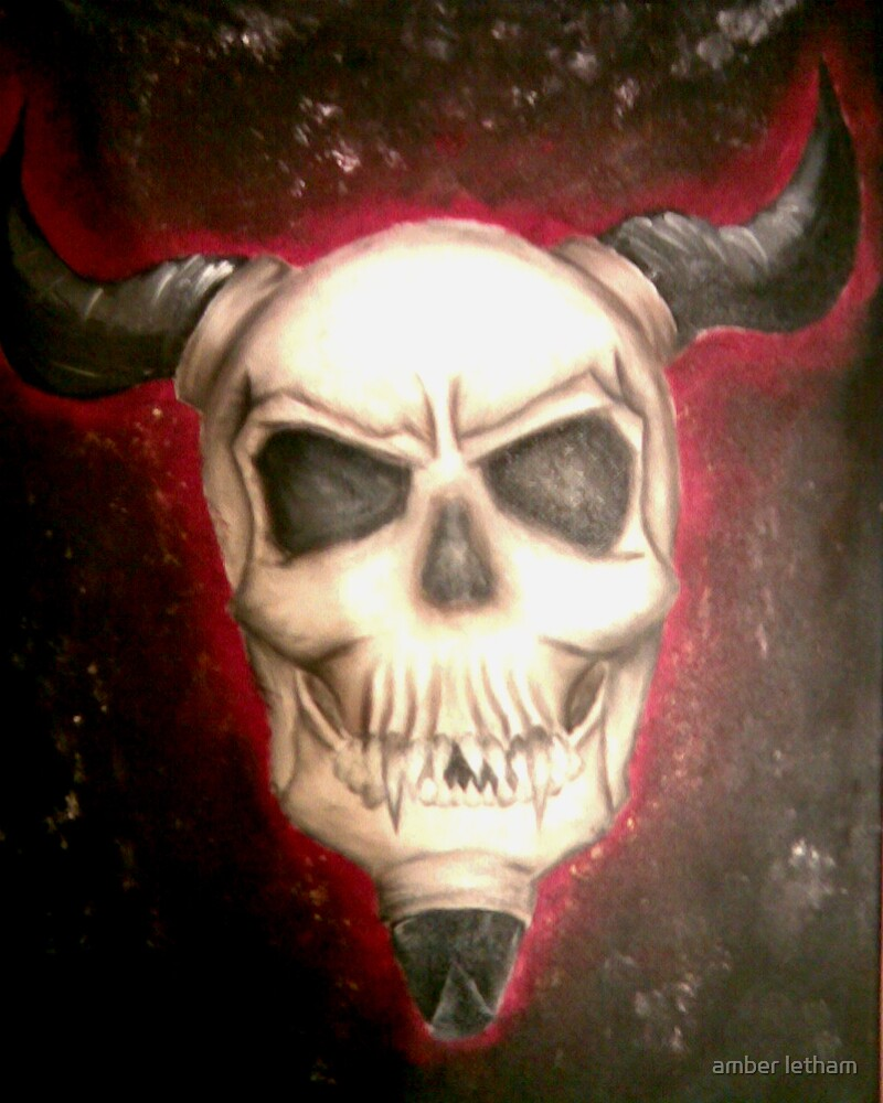 Hells skull by amber letham