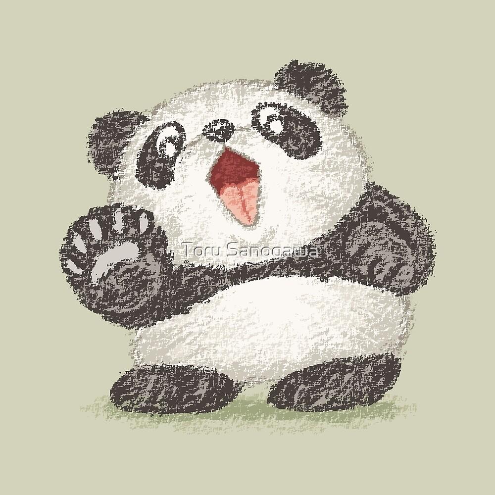 «Panda sorprendido» de Toru Sanogawa