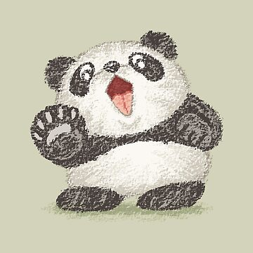 Surprized Panda by sanogawa