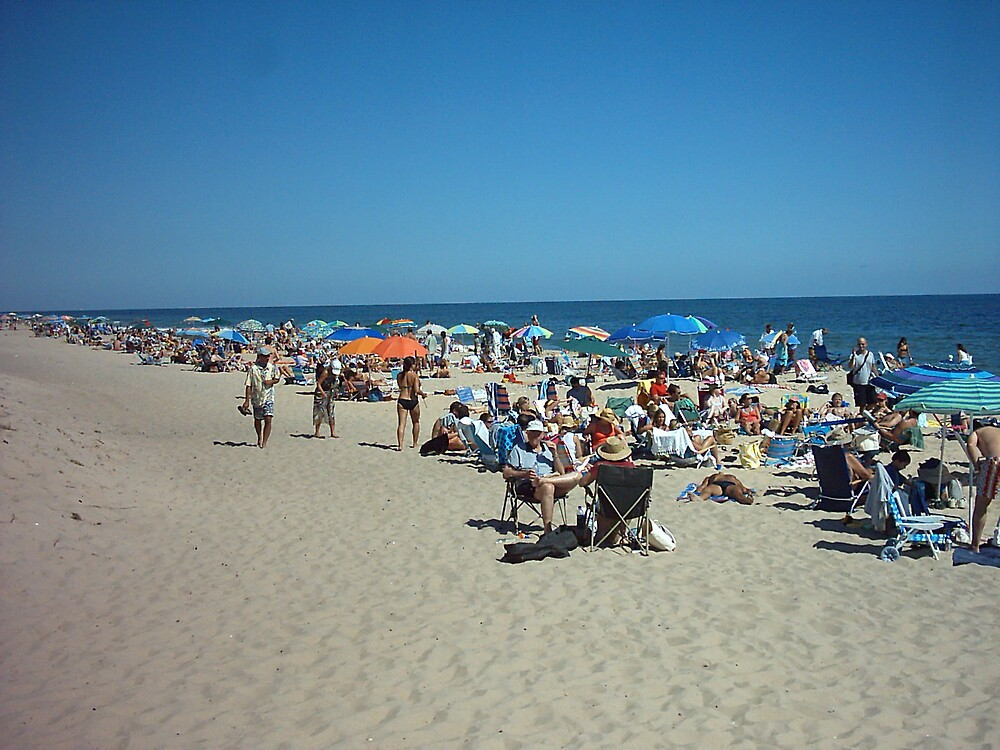 Atlantic beach by hedgewon