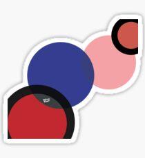 KIROVAIR POP ART CIRCLES #minimal #art #design #kirovair #buyart #decor #home Sticker