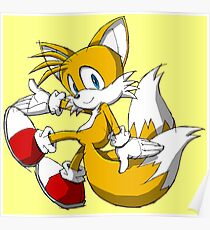 Tails the Fox Poster