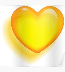 Colorful  Heart Poster