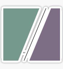 Divided #minimal #art #design #kirovair #buyart #decor #home Sticker