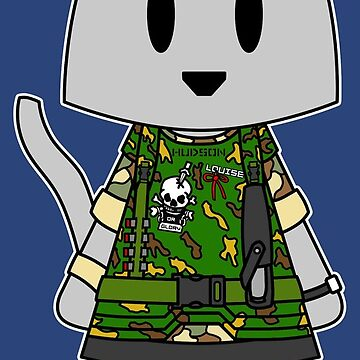 Aliens Cat Hudson - Game Over Man by NuthatchDesigns