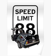 88 Miles Per Hour Poster