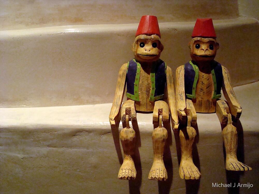 Let's Monkey Around by Michael J Armijo