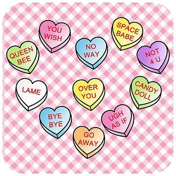 Conversation Hearts by jadeboylan