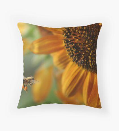Bunflower Throw Pillow
