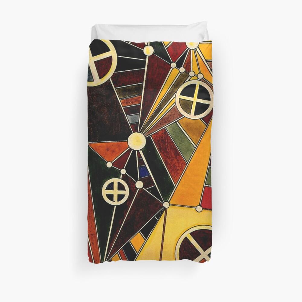 Kandinsky - In the Network Duvet Cover