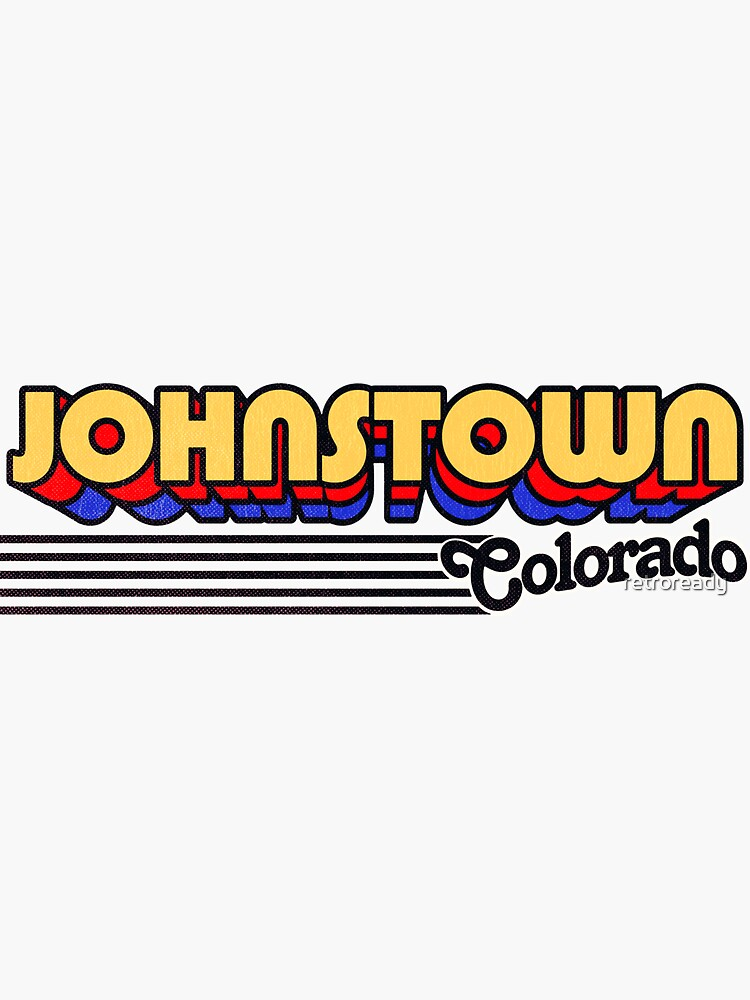 Johnstown, Colorado | Retro Stripes by retroready