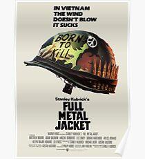 Volle Metalljacke Poster