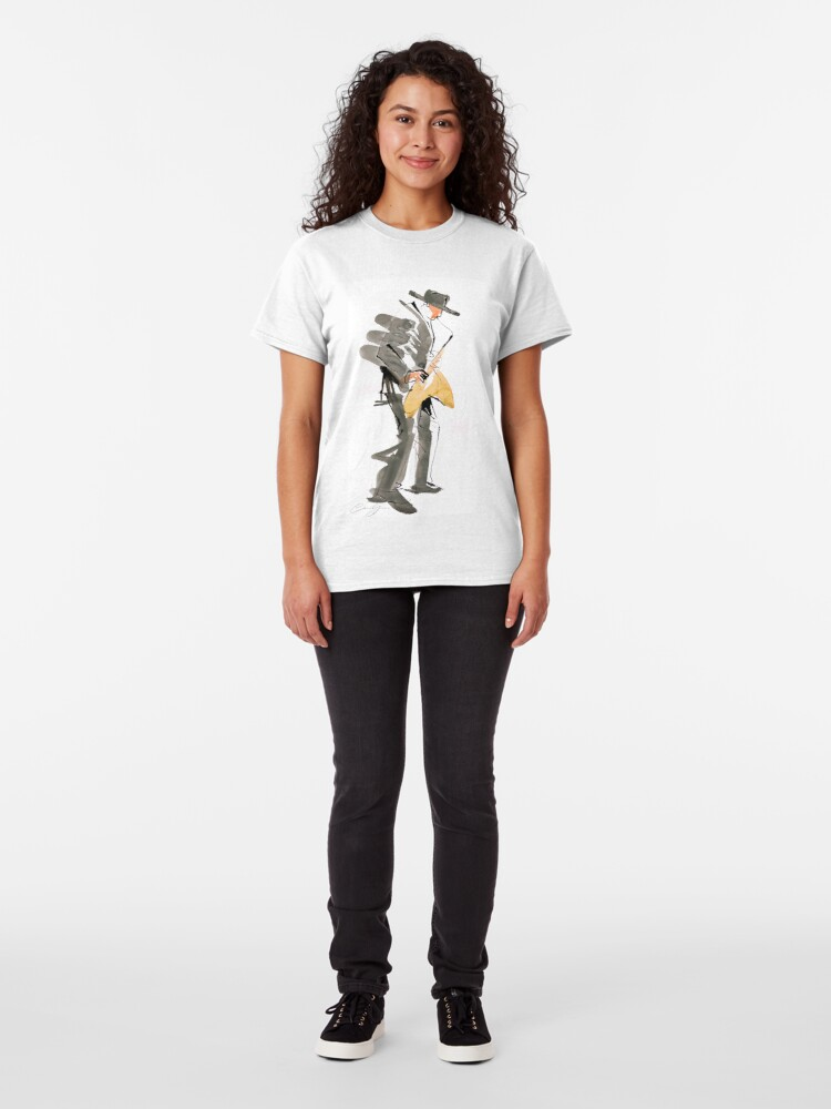 Alternate view of Musician Jazz Saxophone Classic T-Shirt