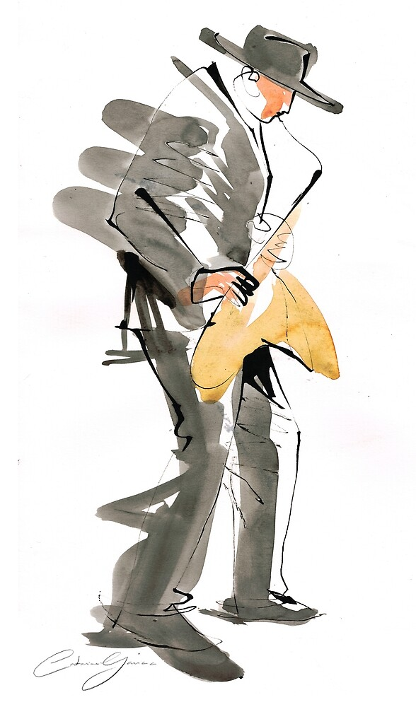 Musician Jazz Saxophone by CatarinaGarcia