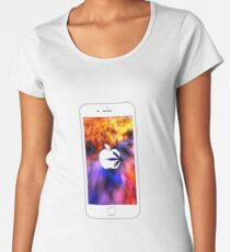 apple Women's Premium T-Shirt
