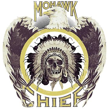 Indian Chief Eagle Skull by savage-wear