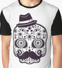 Skull Hat - Modern Design - Many Colors Graphic T-Shirt