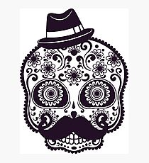 Skull Hat - Modern Design - Many Colors Photographic Print