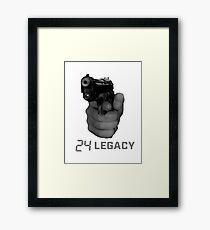 24 legacy Framed Print