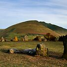 Blencathra from Castlerigg Stone Circle by Stephen Paylor