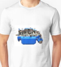 Heavy truck automatic transmission isolated on white Unisex T-Shirt