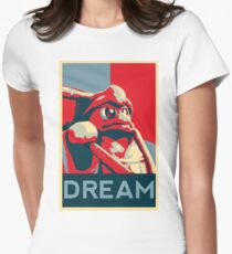 Dedede For President Women's Fitted T-Shirt