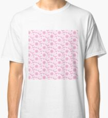 Bouquet from peony, chrysanthemum, watercolor Classic T-Shirt