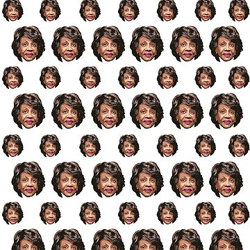 Maxine Waters Pattern by popdesigner