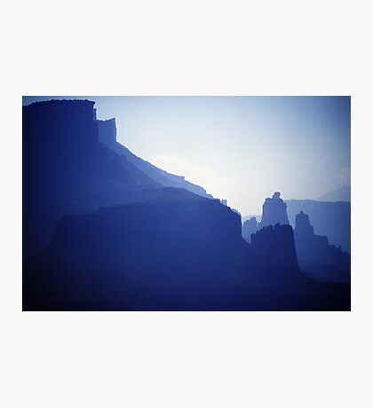 Castle Valley Silhouette Photographic Print