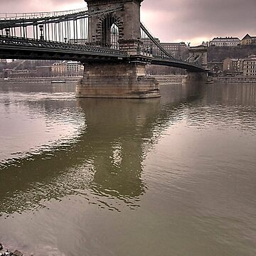 Budapest bridge by skukucka