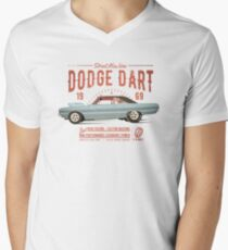 Dodge Dart Dragster Street Machine 1969 T-Shirt mit V-Ausschnitt