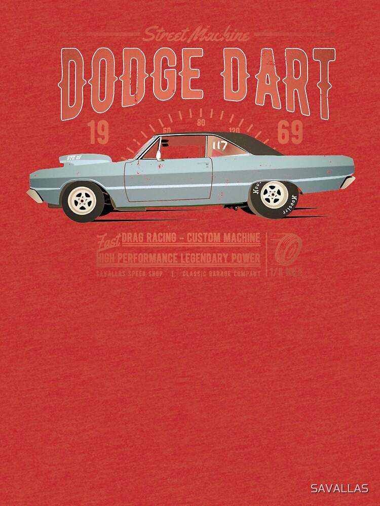 Dodge Dart Dragster Street Machine 1969 von SAVALLAS