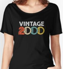 Vintage 2000 - 18th Birthday Women's Relaxed Fit T-Shirt