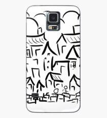Village Rush Hour Case/Skin for Samsung Galaxy