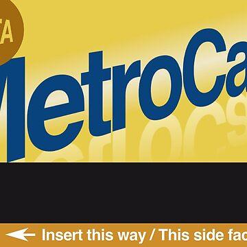 MetroCard by georgeinthelife
