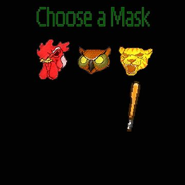 Hotline Miami - Choose a Mask by alemag