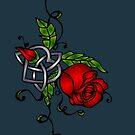 Celtic Rose by bettinadreier75